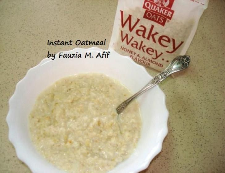 Oatmeal Porridge   Fauzias Kitchen FunOatmeal Porridge   Fauzias Kitchen Fun   Breakfast Yummies  . Fauzia Kitchen Fun Chicken Soup. Home Design Ideas
