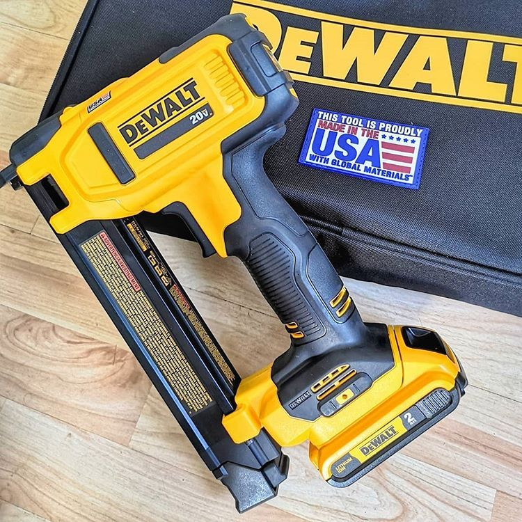 Bringing Home The Dewalt Ca Or In This Case Importing Home A New Tool That Ll Help Me Make More Of That Juicy Bacon Dewalt Tools Professional Tools