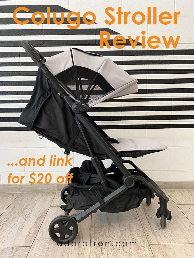 Colugo Stroller Review Unboxing the Compact Stroller