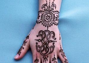 Mehndi Symbols Patterns And Meanings : Mandala circle style flower henna design or mehndi