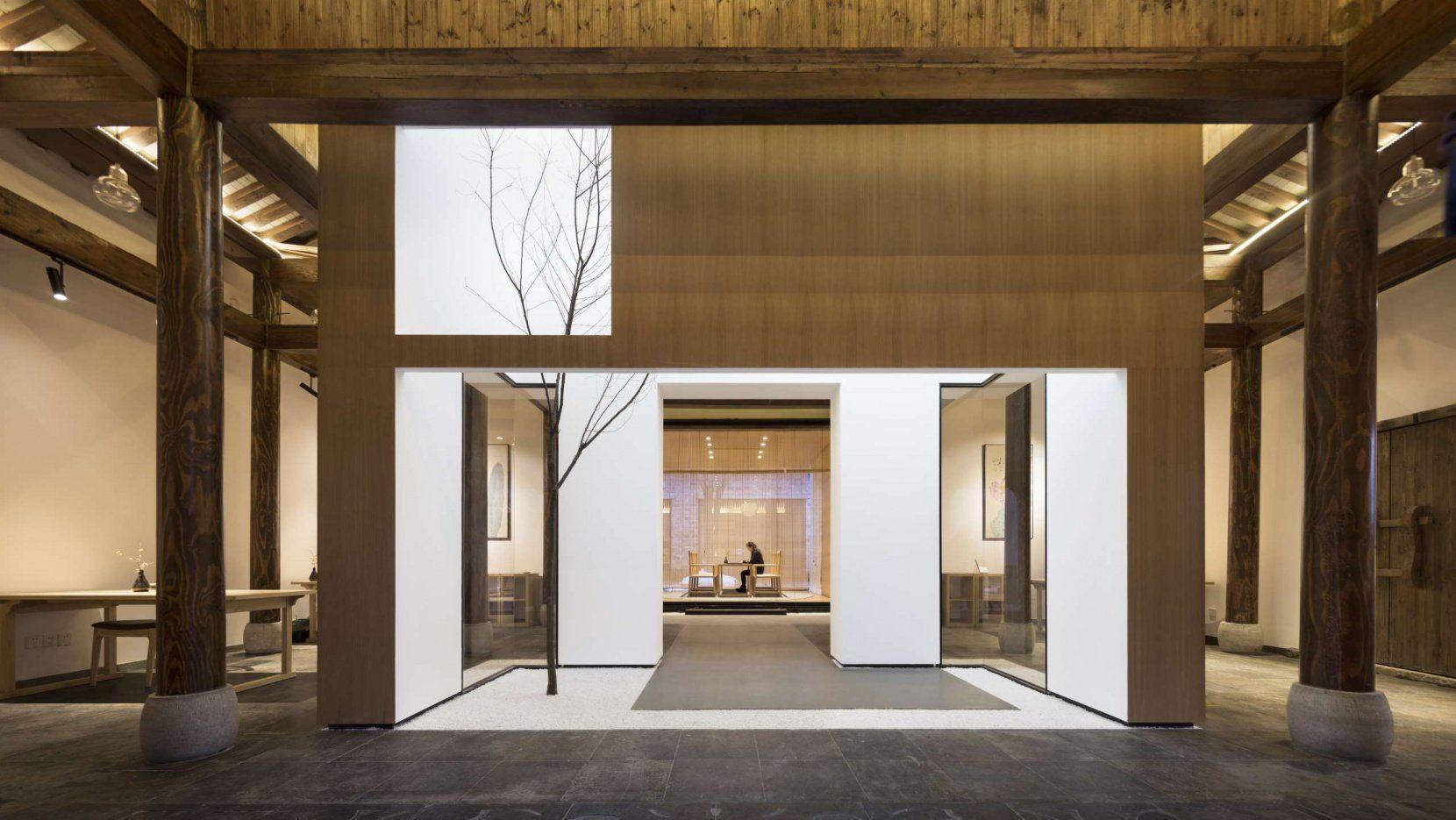 Contemporary architecture reinvigorates aging fishing village in