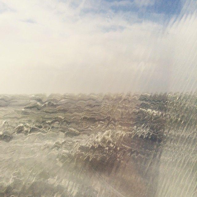 MooiWeer Terschelling @mooiweerterschelling Storm weer tijdens de overtocht van Terschelling naar Harlingen #Terschelling #ferry #storm #wheater