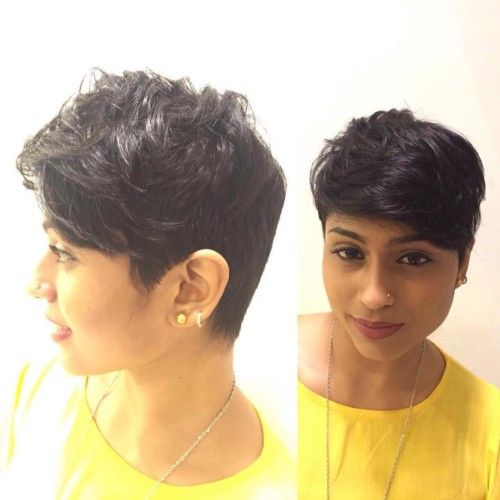 Trendy Short Boycut For Indian Face Short Indian Hairstyles