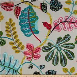 Waverly Sun N Shade A New Leaf Fiesta Waverly Fabric Wall