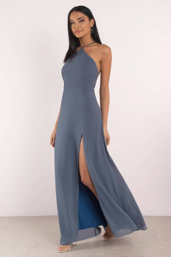d67ad506d08 Rise Above Lace Up Back Maxi Dress in 2019