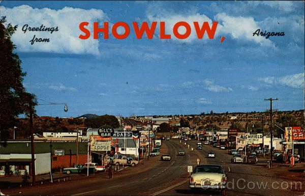 Image result for photographs of show low arizona circa 1960