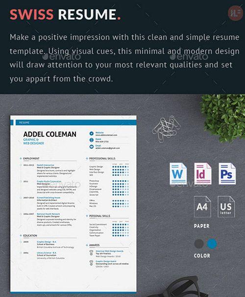 Swiss creative resume designs work pinterest creative swiss creative resume designs yelopaper Gallery