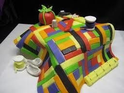 IT IS A CAKE!!  Quilter's Quarters's photo