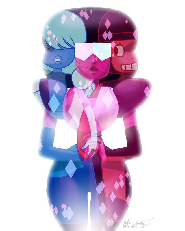 Homoloaf Appreciation Mike Hiscott Something For The Full Disclosure Sapphire Steven Universe Garnet Steven Universe Steven Universe Fanart