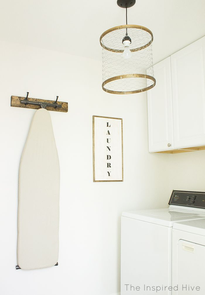 Rustic Industrial Laundry Room Reveal Laundry Room Diy Laundry