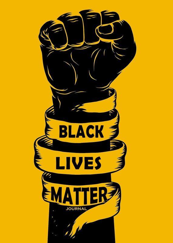 iNspire: Black Lives Matter Journal – Black Art, Queen, Black Girl Magic, Creative Journal for Women, Bullet Journal