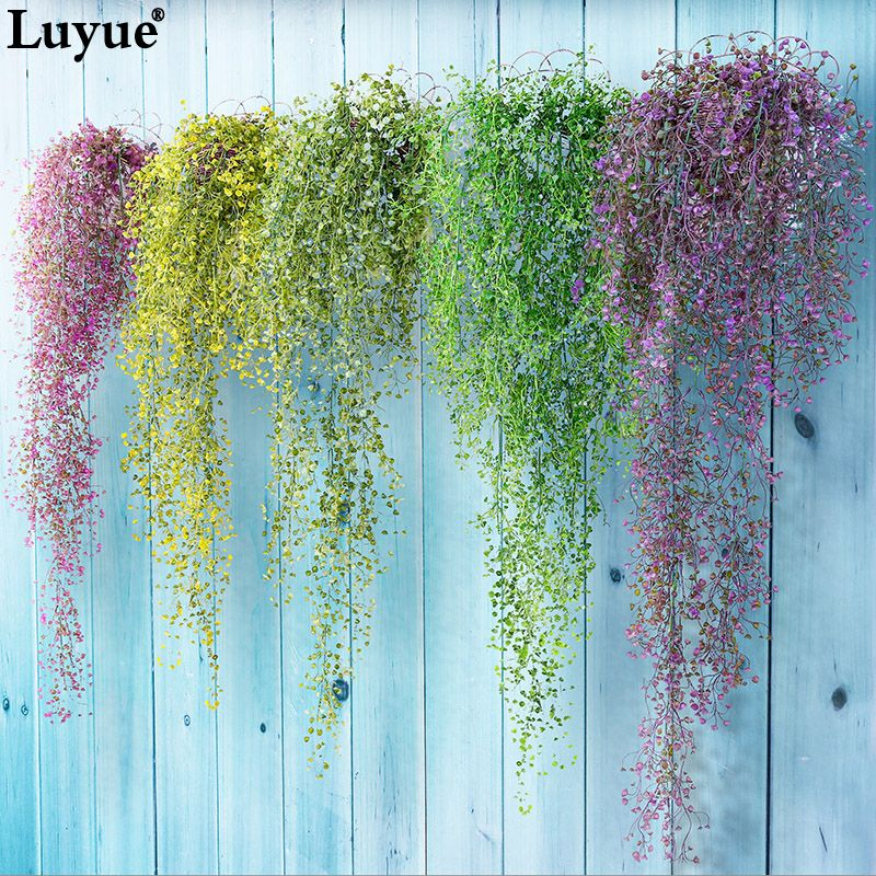 Luyue Artificial Plant Vines wall hanging green plant is part of Living Room Plants Vines -