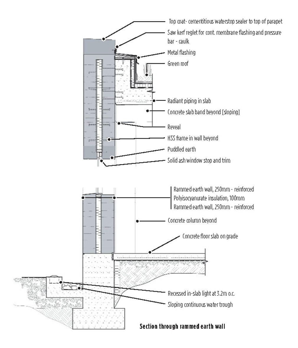 8 Nk Dr03 Jpg 1010 1177 Rammed Earth Homes Rammed Earth Rammed Earth Wall