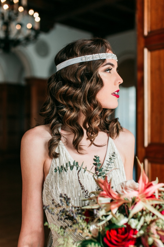 Art Deco brides will swoon for this LA Great Gatsby wedding inspiration