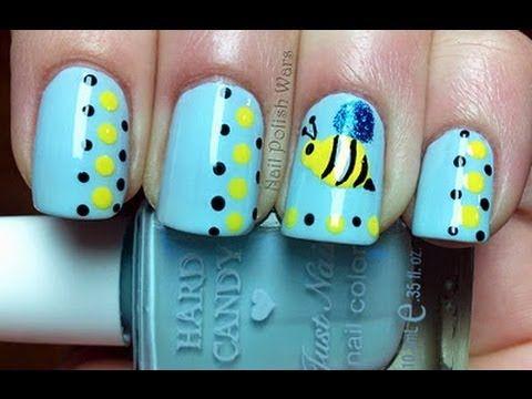 Cute easy nail designs with nail polish