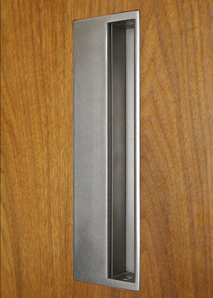Sliding Door Pull Made By 12 Ave Iron, In Seattle