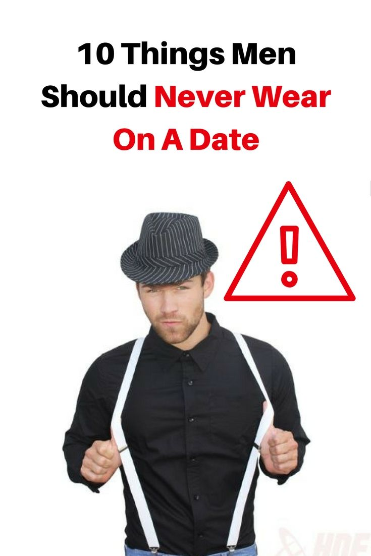 10 Things Men Wear That Should Be Major Red Flags
