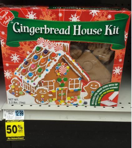 Inexpensive Family Fun! Rite Aid Has Gingerbread House or ...