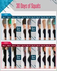 Image result for 30 day squat challenge before and after