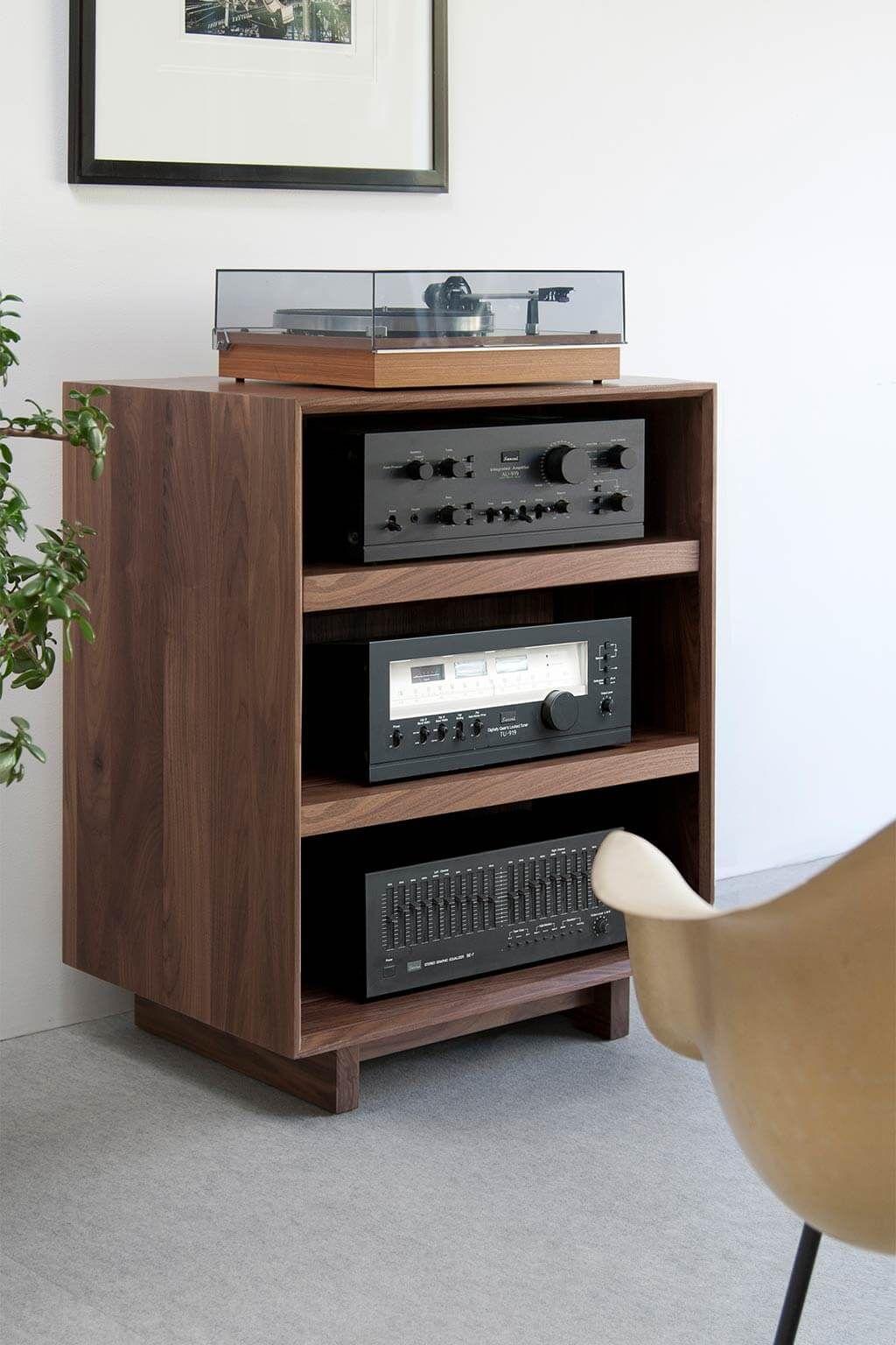 Aero 25 5 Audio Rack Mit Bildern Hifi Mobel Tv Wand