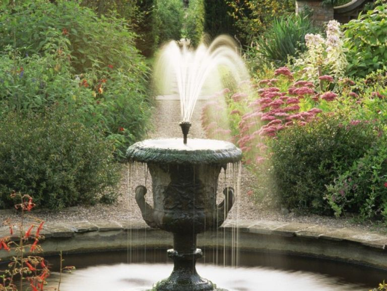 Image Result For English Garden Fountain