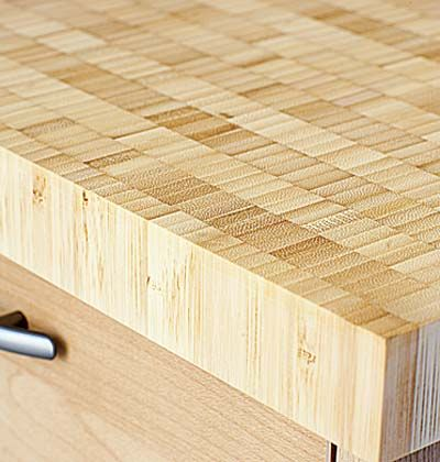 High Quality End Grain Bamboo Eco Friendly Kitchen Countertops   Sunset