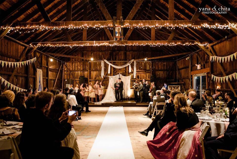 Our Ceremony At Rodes Barn