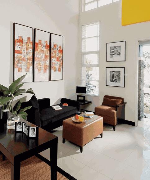 Desain Interior Ruang Tamu Mungil 1