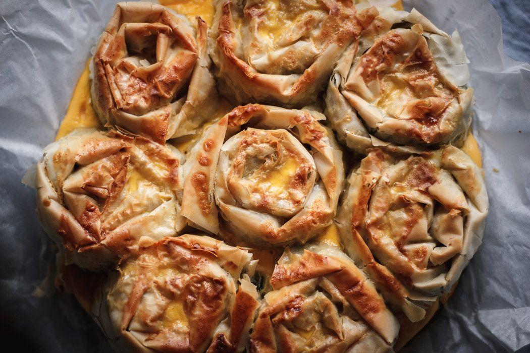 Pull Apart Chicken Spanakopita Recipe Greek Spinach Pie