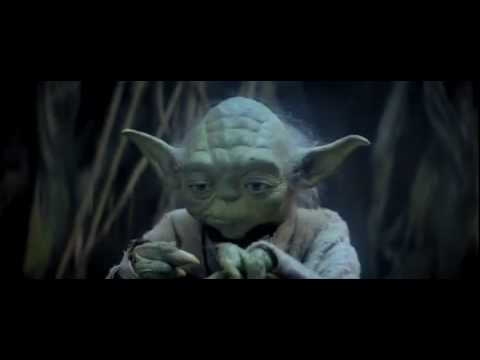 "This is the scene where Yoda teaches about the Force or rather ""Holy Spirit & Faith."" As you know, the character of Yoda derives from the principles of the bible. For example, ""Faith of a mustard seed, you could move mountains"" parable. Etc. etc. etc. may you people find it a good encouragement.Yoda teaching Skywalker (Faith)"