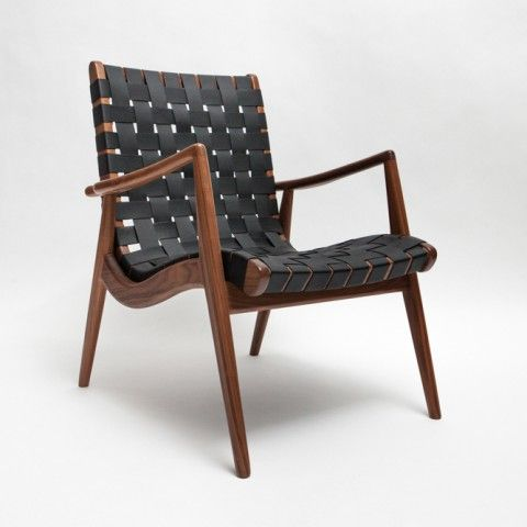 Exceptional  WLC 22 U2013 Woven Leather Strapped Arm Chair By Smilow Furniture |  ReGeneration