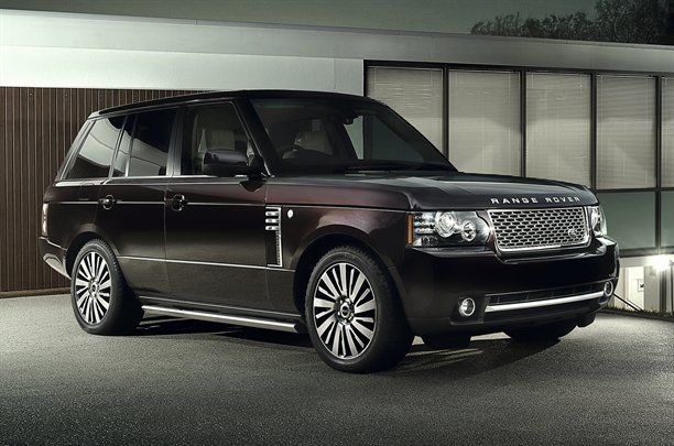 2013 Land Rover Range Rover To Move Up The Price Chart 2013 Land