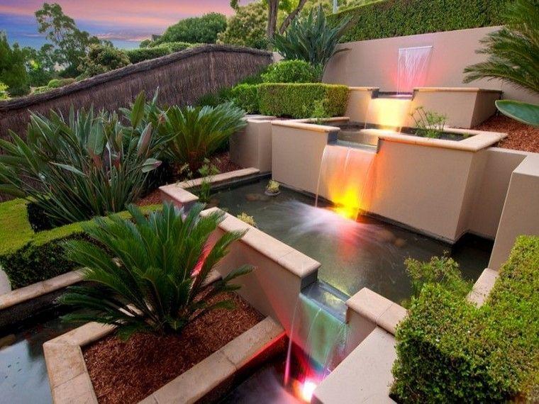 moderno mantillo cascada luces pendiente