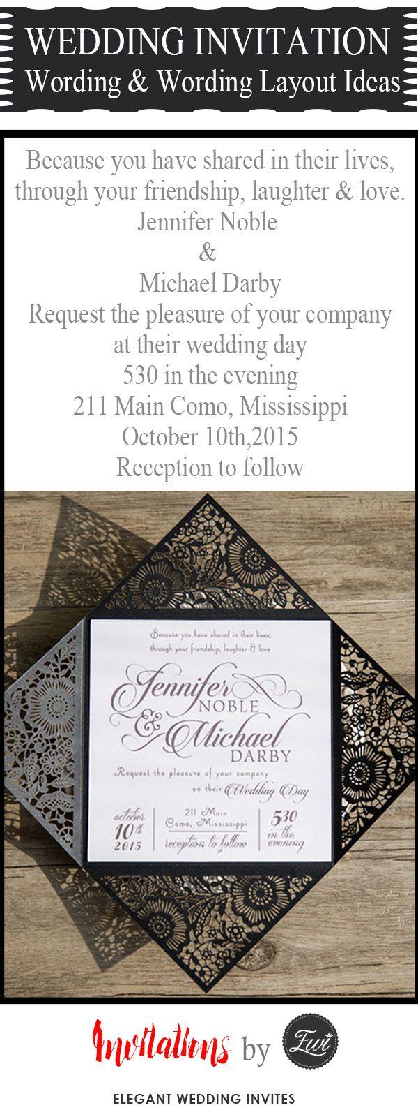 popular wedding invitation wording u diy templates ideas