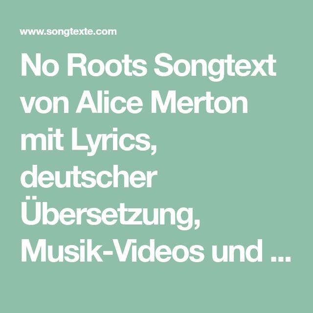 No Roots übersetzung