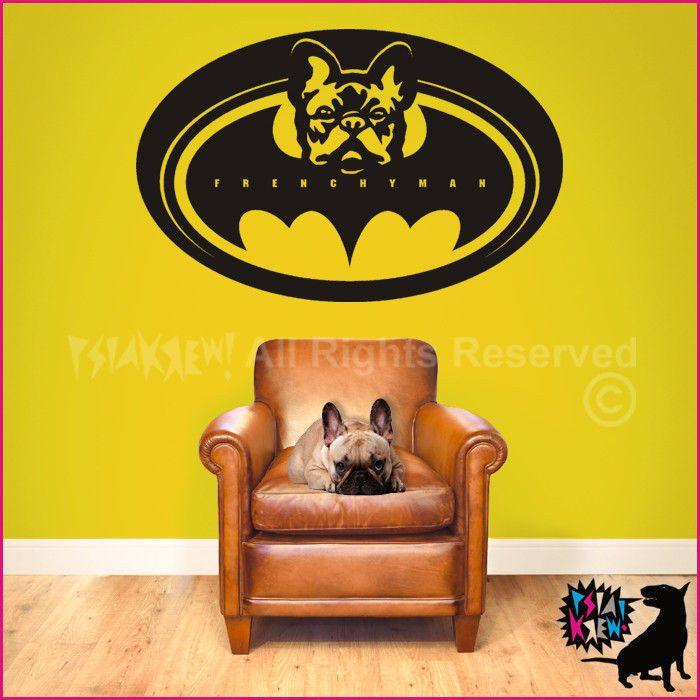 French Bulldog Frenchyman Wall Decal By Psiakrew On Etsy Zl45 00