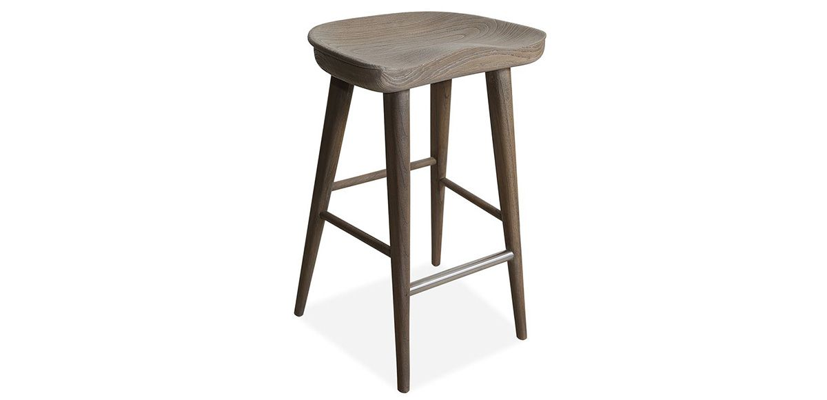 Balboa Driftwood Counter Stool Stool Furniture Counter Stools