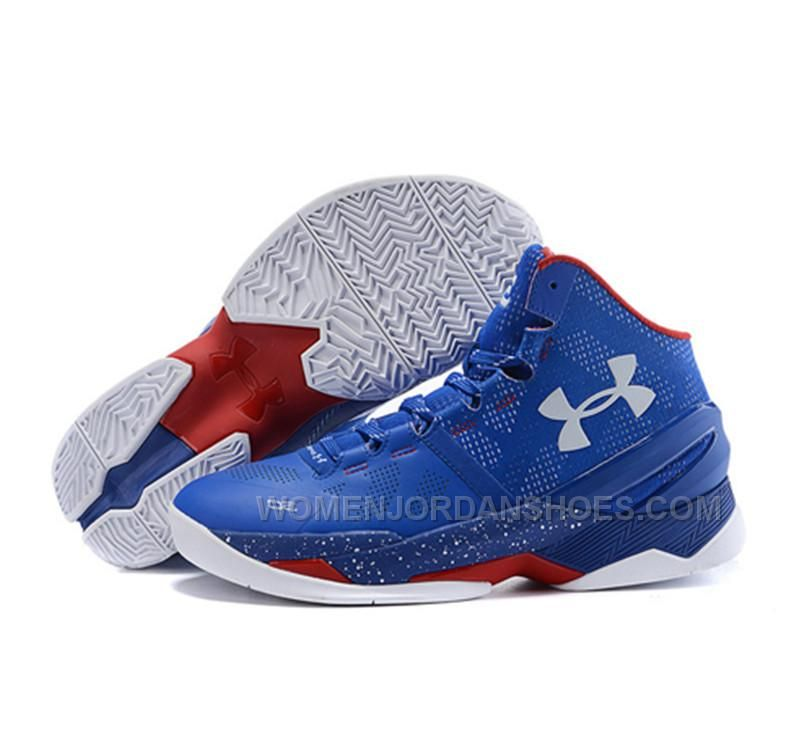 curry 2 red white and blue