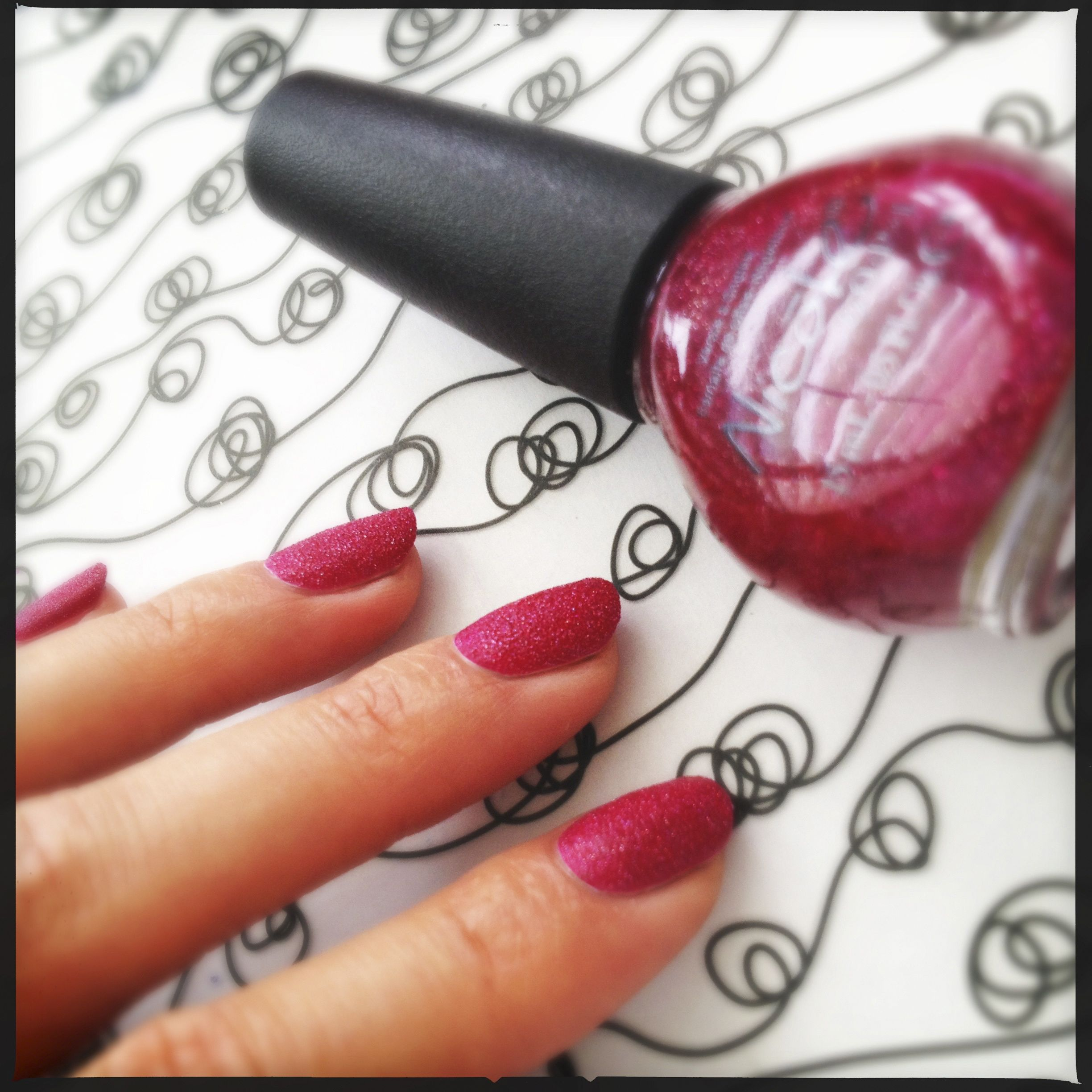 Nicole by OPI My Cherry Amour   Nicole by OPI Swatches   Pinterest