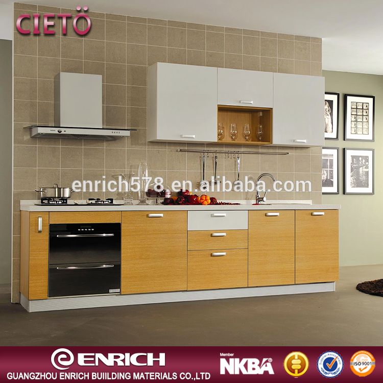 Simple design Melamine cabinet used kitchen cabinets