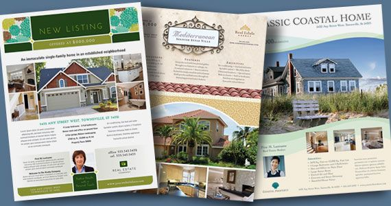 Real Estate Flyers  Graphic Designs  Marketing Ideas  Real