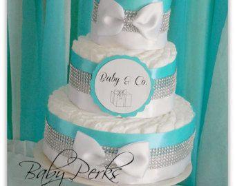 tiffanys diaper cakes - Google Search