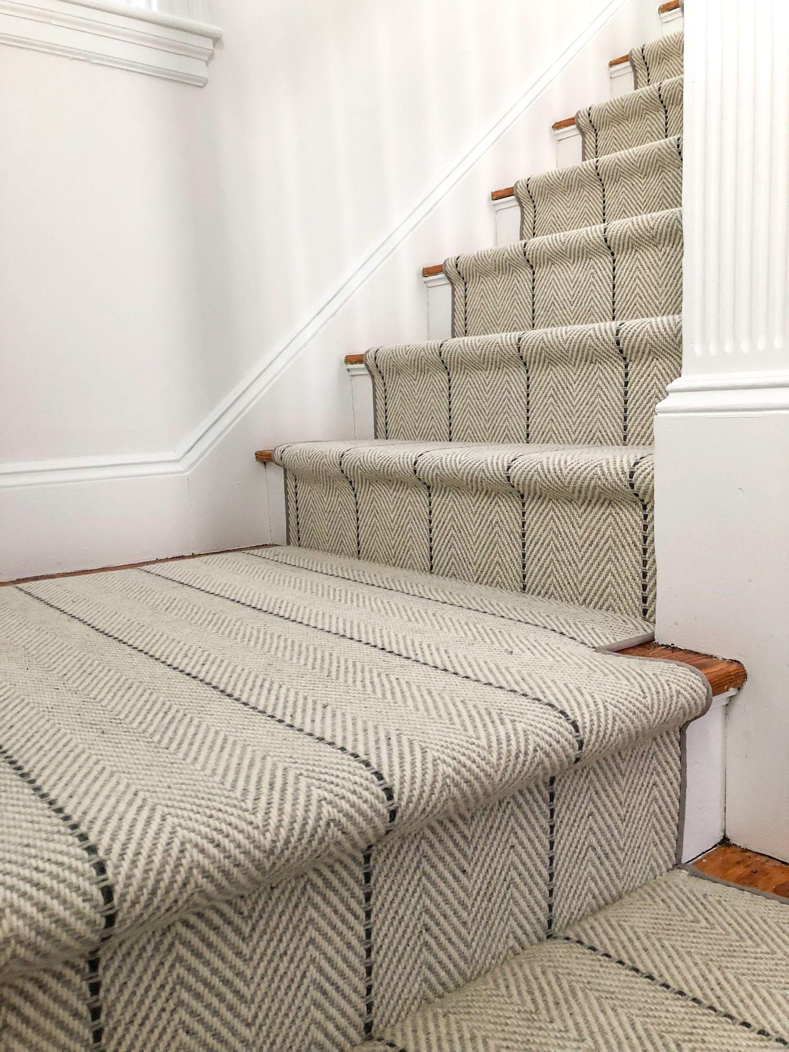 Peter Island Stripe Stair Runner Striped Stair Runner Stair Runner Carpet Stair Runner