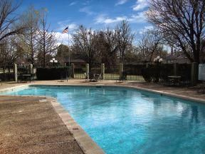 Enjoy swimming in our 5 ft oversized pool.  Plenty of chairs and tables for lounging.  Enjoy our complimentary gas/charcoal grill with the propane.  Great area to have a family picnic.