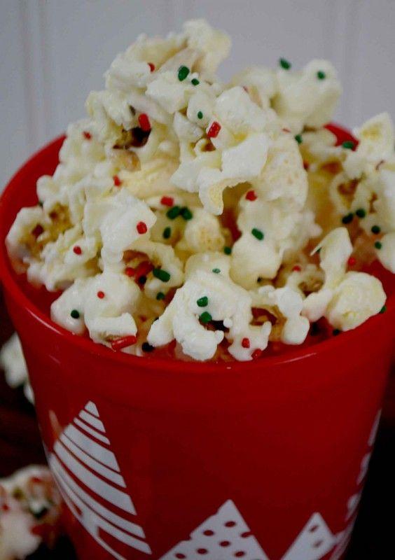 Holiday Crunch Popcorn Christmas Pinterest Popcorn, Holiday