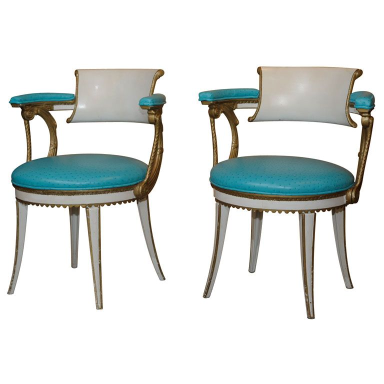 Bon Dorothy Draper Armchairs From Fairmont Hotel