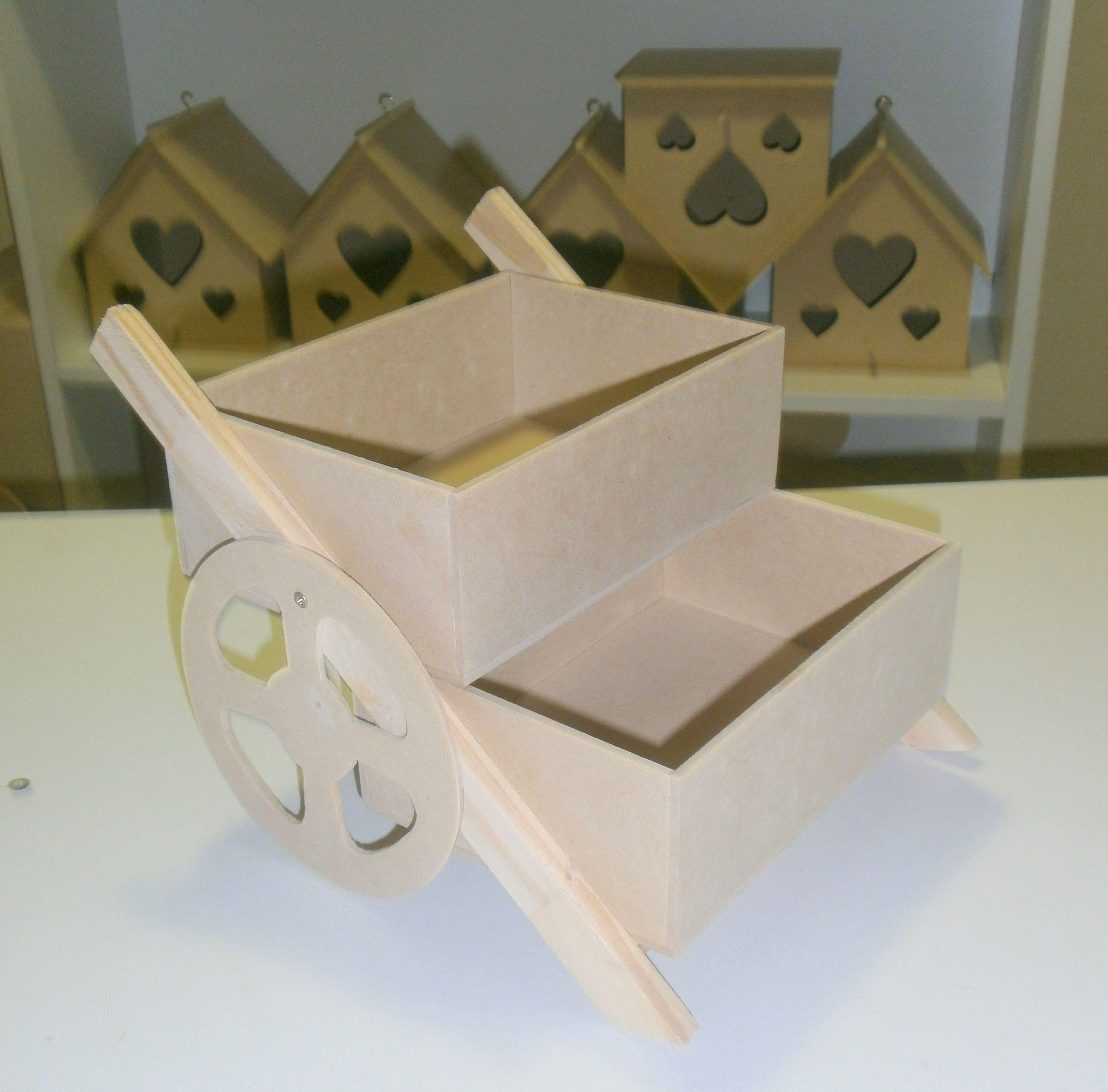 Manualidades con madera Kit para hacer tren de madera DM para candy bar mesa dulce