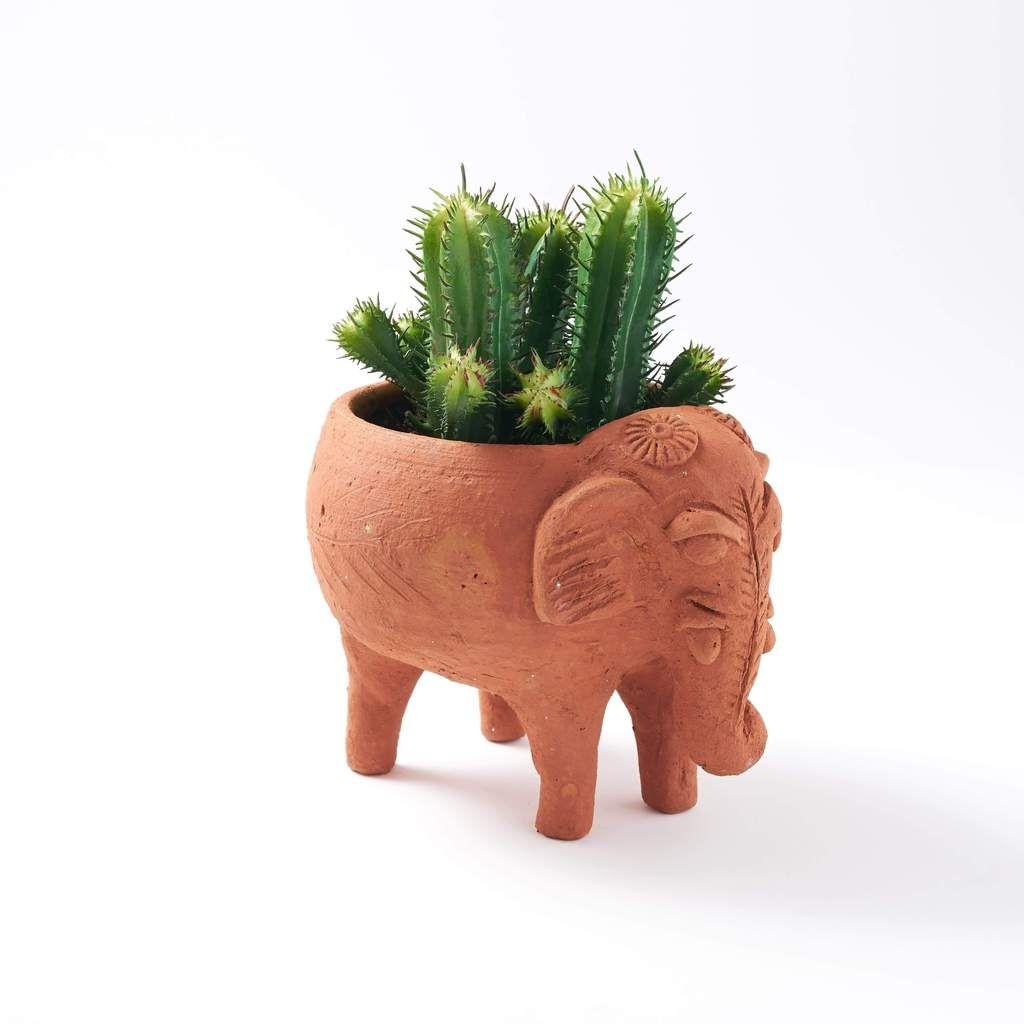 Terracotta Plant Pal – Elephant