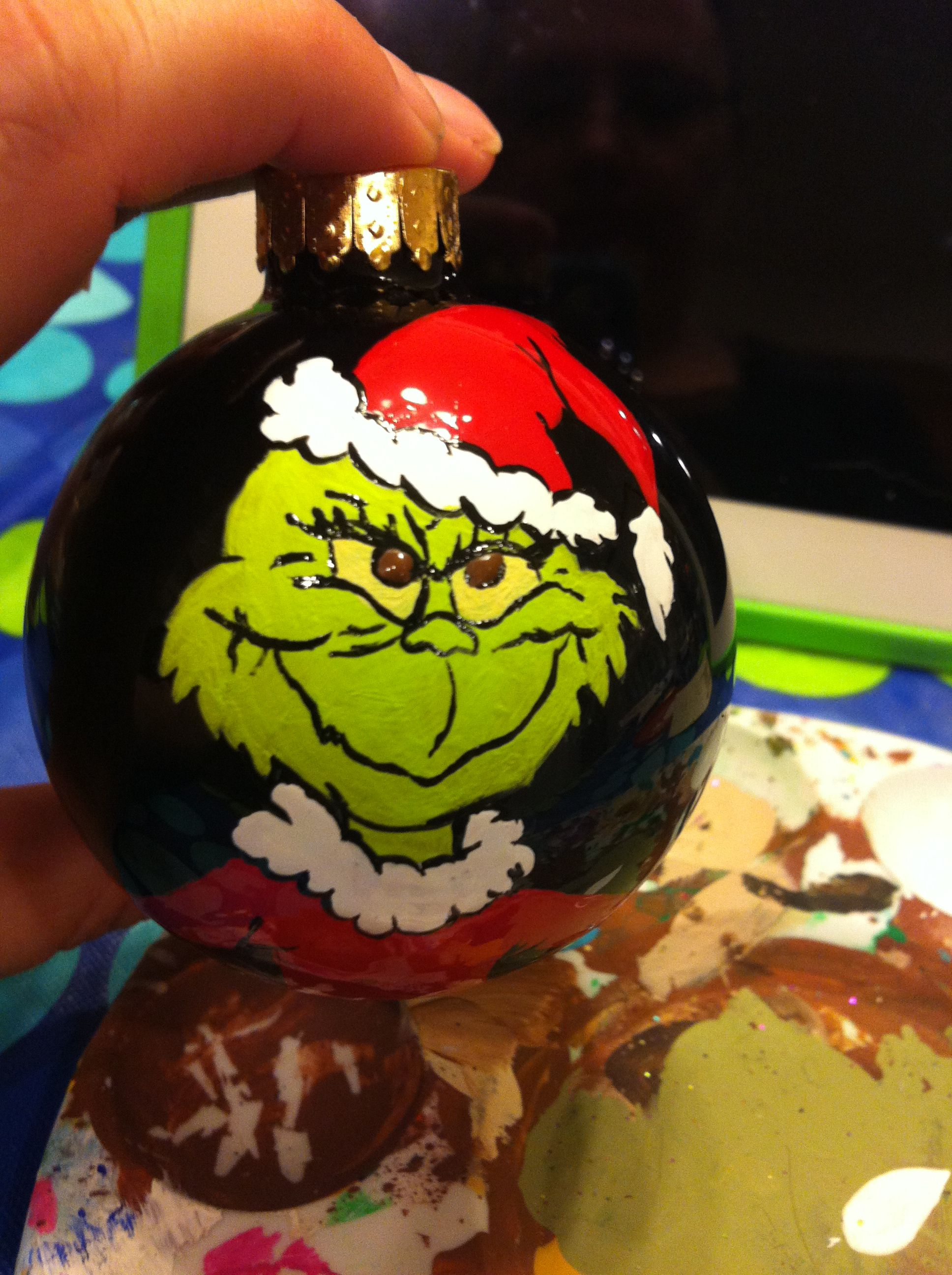 The Grinch ornament Grinch christmas decorations, Grinch