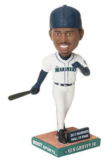 38d6a2ee10 Ken Griffey Jr. Hall of Fame Night. First 20,00 fans take home a Griffey  bobblehead, courtesy of ROOT Sports. 8/10/13 #Mariners vs. #Brewers